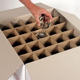 vente de carton verres pour d m nagement granville. Black Bedroom Furniture Sets. Home Design Ideas
